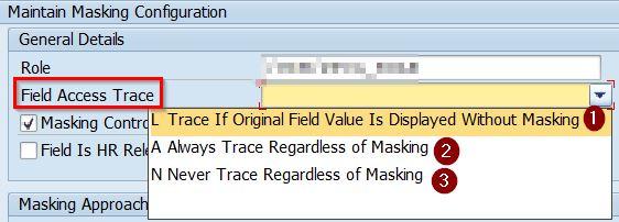 Field access trace